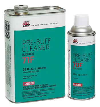 Pre-Buff Cleaners